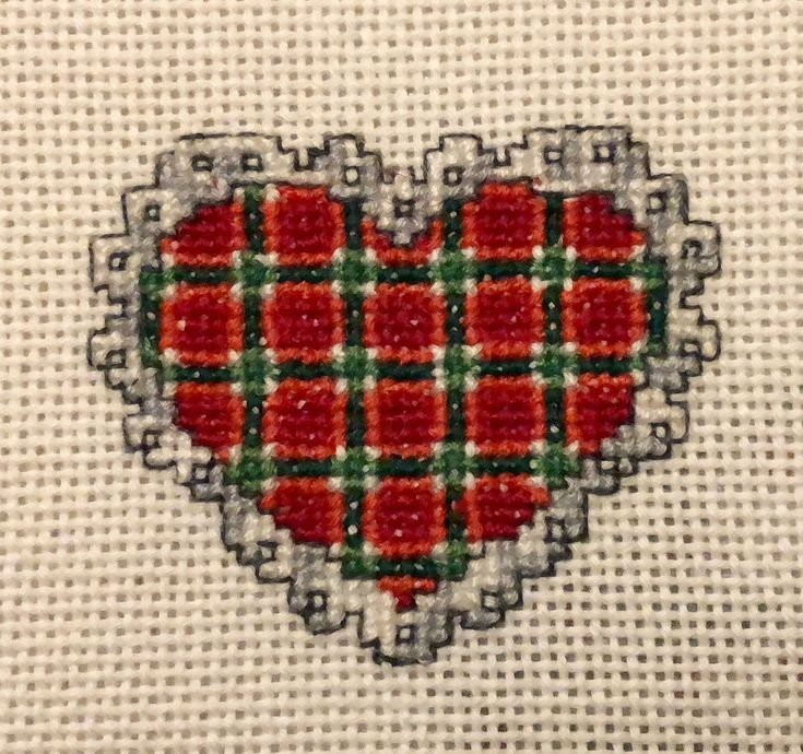 sweet heart of mine  #crissstitch #heart #cuore