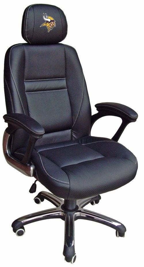 Minnesota Vikings Head Coach Leather Office/Desk Chair Available For  $399.97 Only.