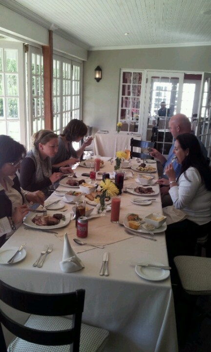 Lunch at Fordoun Hotel in the KwaZulu-Natal Midlands with the N3Gateway team. http://www.n3gateway.com/things-to-do/conferencing.htm