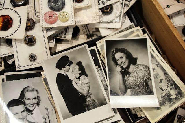 #29/101: op zoek naar mooie zwartwit foto's. Een paar maanden terug vond ik deze portretten op de VerzamelaarsJaarbeurs in Utrecht.