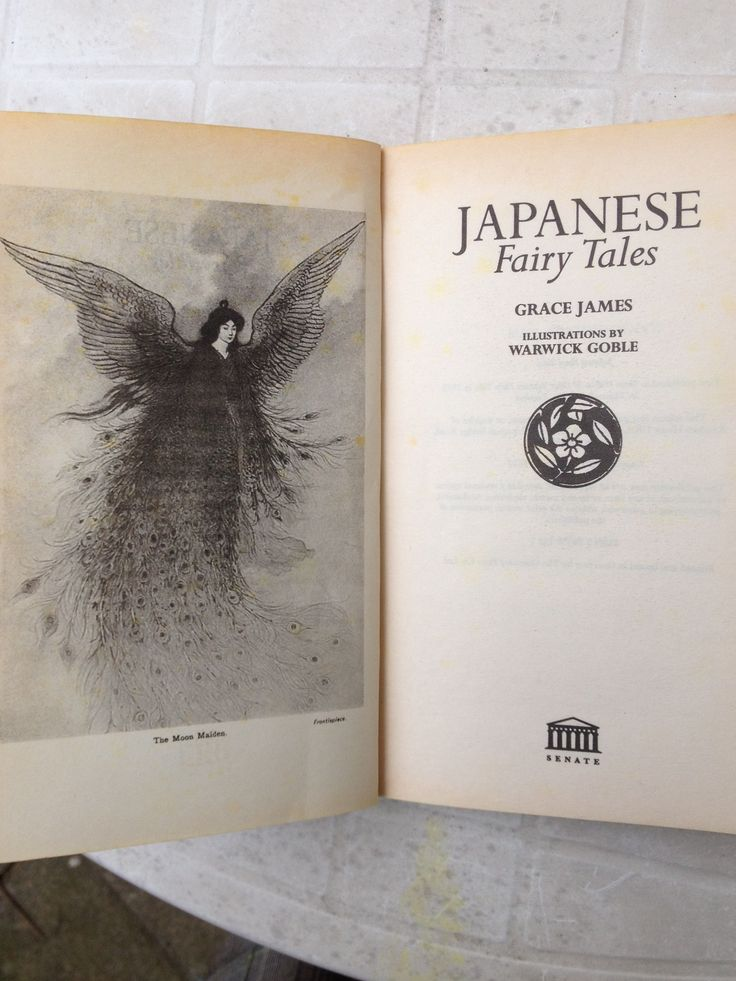 Book of Japanese fairy tales... It's interesting to see where some of the inspiration for anime comes from. They seem to talk a lot about drinking saké, which is rice wine.