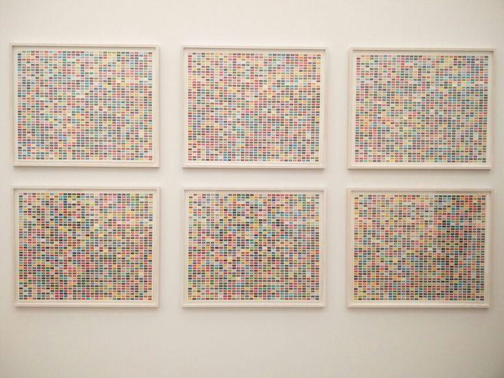 Gerhard Richter Ausstellung, Folkwang Museum Essen, April 2017