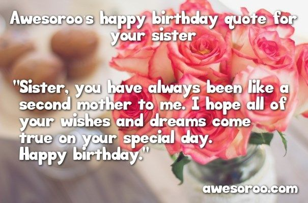 Birthday Quotes For Sister 34 Best Birthday Quotes & Wishes Images On Pinterest  Quotes About .