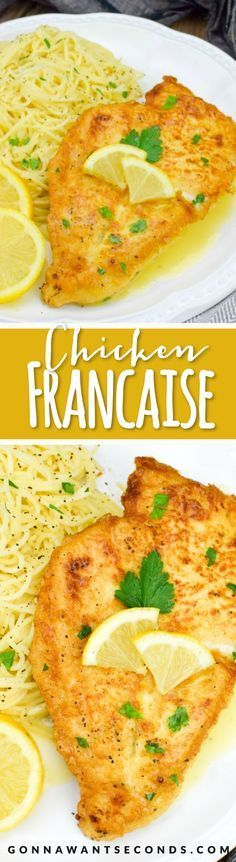 "Chicken Francaise is an impressive dish that celebrates our American ""Melting Pot"" by bringing together two of my favorite cuisines – Italian and French. The bonus is its feasibility for a busy weeknight treat, allowing you to put together a complex and delicious dish with simple ingredients and limited time."