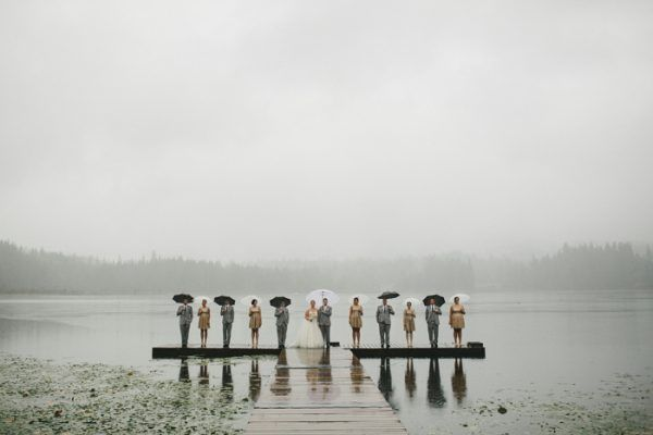 Afraid of Rain Check Out These 29 Incredible Rainy Wedding Day Photos