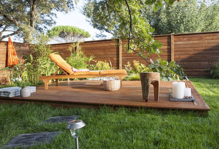 10 best terrasse bois images on pinterest balconies. Black Bedroom Furniture Sets. Home Design Ideas