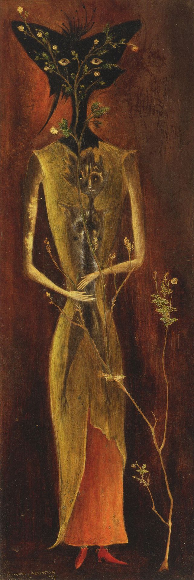 Portrait of Madame Dupin by Leonora Carrington