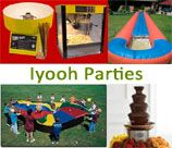 Iyooh Parties provide the best action packed kiddies party entertainment @ birthday parties and school functions.  We make sure that you sit back, relax and watch your little peep's party without any worries. We entertain children from 2 to 12 years old at any party whether it be a childrens birthday party or at school functions.