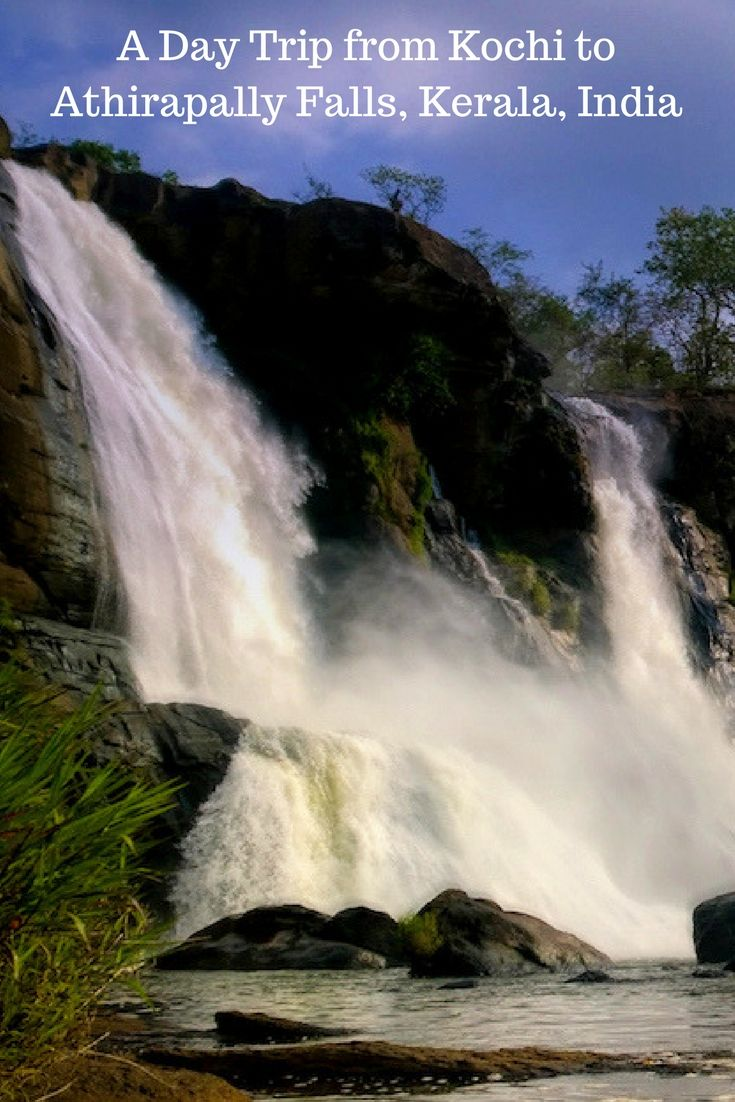 Athirapally waterfalls make for a great day trip as well as a road trip from Kochi, Kerala, India.    Athirapally waterfalls | How to reach Athirapally waterfalls? | Places to visit near Athirapally Waterfalls | Ezhattumugham | Vazhachal falls | Thrissur, Kerala | Road trip from Kochi | One Day Trip from Kochi | Best one day trips from Kochi | Kerala | IncredibleIndia #travel #AthirapallyFalls #AthirapallyWaterfalls #Kerala #IncredibleIndia #RoadTrip #DayTrip #Adventure #FamilyTravel #Kochi