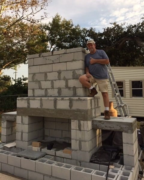 Building your own outdoor fireplace may seem out of the ... on Building Your Own Outdoor Fireplace id=22237