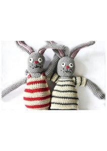 hand crotchet Bunny