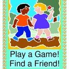 """""""FRIENDSHIP GAME!"""" - ACTIVE 'MOVES' WITH YOUR BUDDIES!  """"I have friends to play with! Every single day!""""  Play a GROUP GAME during your Circle Time!  Start your day with a message about Friendship!  It's fun to follow funny SEQUENTIAL DIRECTED MOVEMENT PATTERNS together!  Five Movement Pattern Template Cards are included.  Sing a simple 6-note song!  Your kids will exercise and laugh together - a great start to your day!  (11 pages) Joyful Noises Express TpT loves to 'wake up your morning'…"""