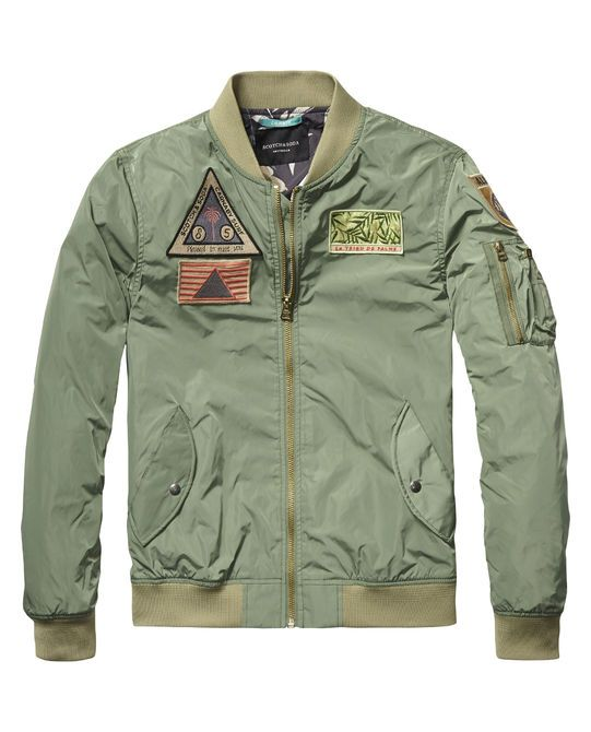 Bomber Jacket |Jackets|Men Clothing at Scotch & Soda