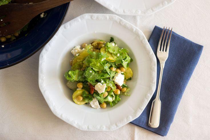 Roasted Veg & Chickpea Salad