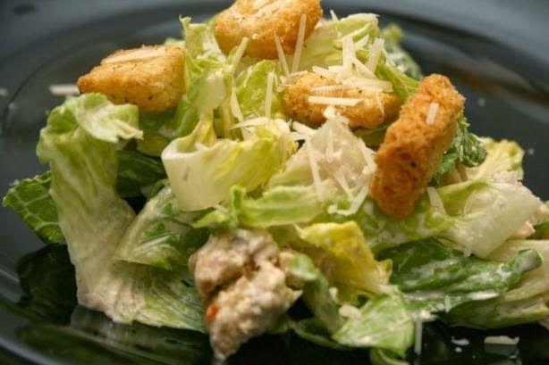 Cesar Salad   MyRecipeMagazine…great dressing recipe.