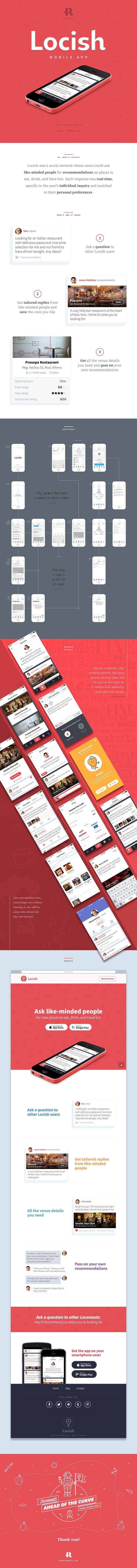 Locish Mobile App