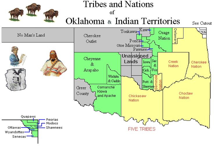 Tribe Cherokee Indian Reservation   Indian Territory/Oklahoma