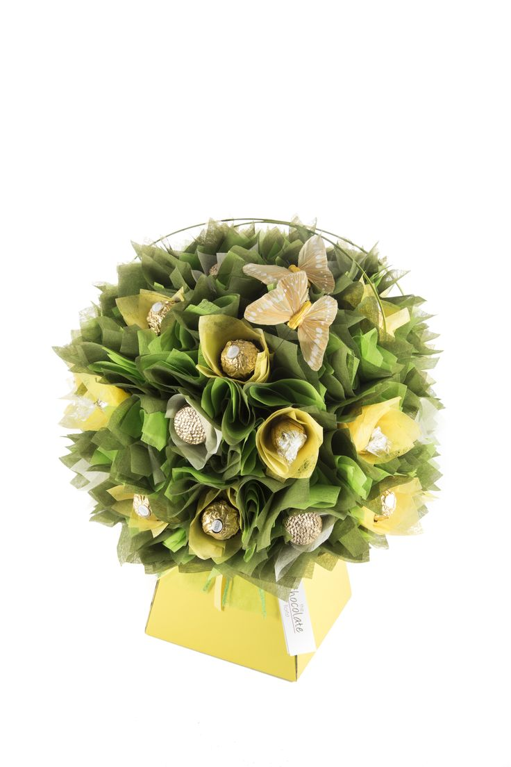 23 best indulgent chocolate bouquets images on pinterest biscuit love ferrero rocher and lindt chocolates then you will love this yellow daffodil chocolate bouquet izmirmasajfo Images