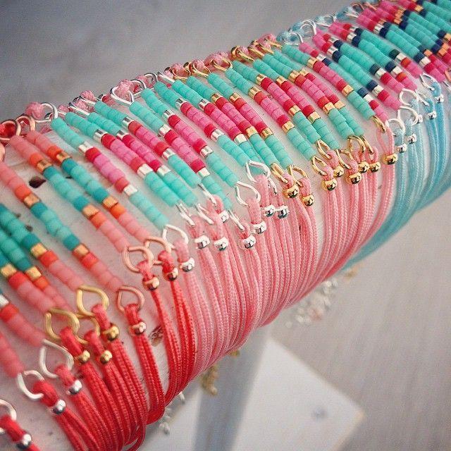 Happy sunny sunday ☀️ Mini Bracelets