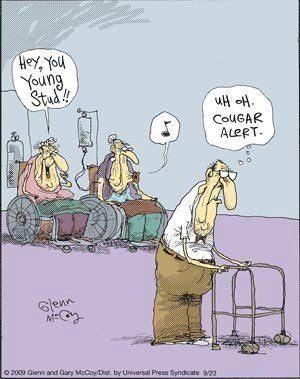 Στο γηροκομείο....