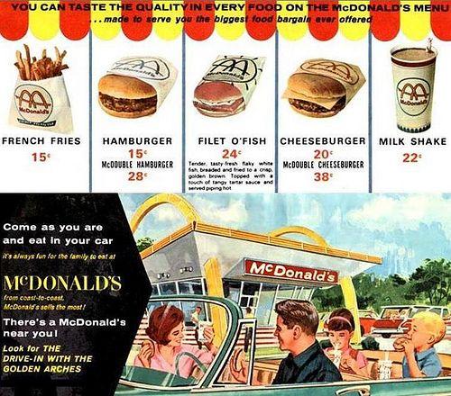 McDonalds Golden Arches Billions and Billions Sold