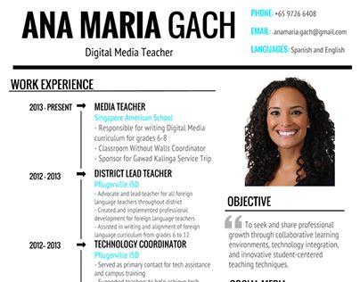Se dette @Behance-projekt: \u201cVisual Resume - Ana María Gach\u201d https://www.behance.net/gallery/23701457/Visual-Resume-Ana-Maria-Gach