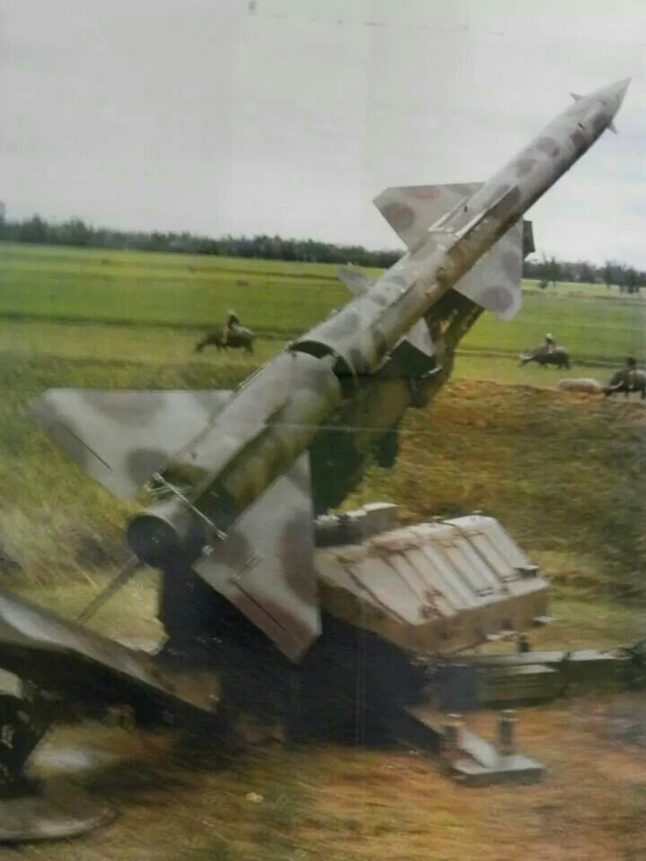 Vietnam...SAM (Surface to Air Missile)