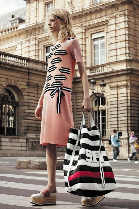stripe inspo - Sonia Rykiel | Resort 2014 Collection | Style.com
