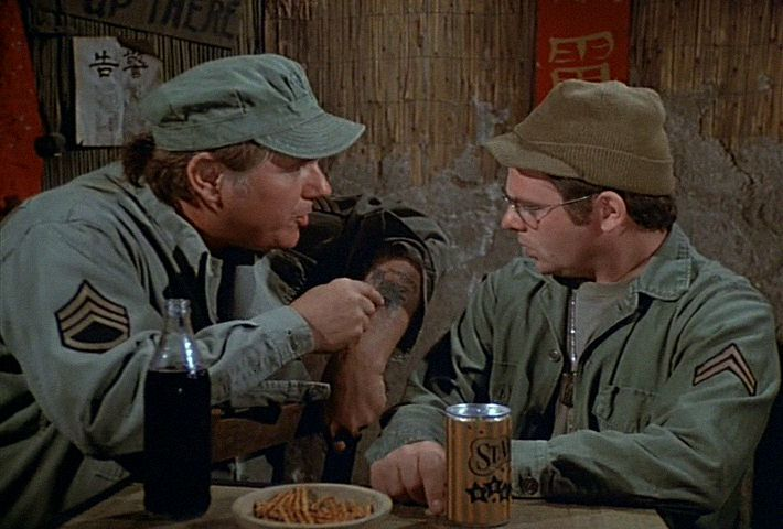 M*A*S*H: Season 6, Episode 9 Images (15 Nov. 1977) 4077, mash, Gary Burghoff , Corporal Walter Eugene O'Reilly, John Durren, Sgt. Rimmerman