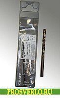 Сверло-ø 4,2 x75 мм -1 шт (кобальтовое) HSS-CO  #оснастка #стройка #сверла #буры #фрезы #коронки #диски #диски #по бетону #по металлу #заказ #по дереву #по мрамору #Black&Decker #эксклюзив #Hawera #Россия #Wolfcraft #подарок #Bosch #prosverlo.ru