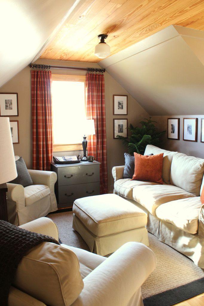 attic living area