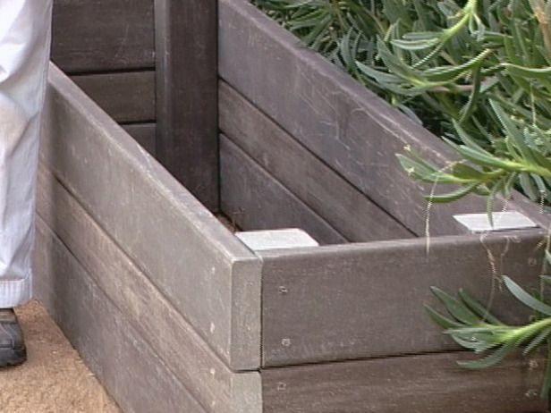 DIY garden bench with storage-- nice for grill accessories or outdoor toys
