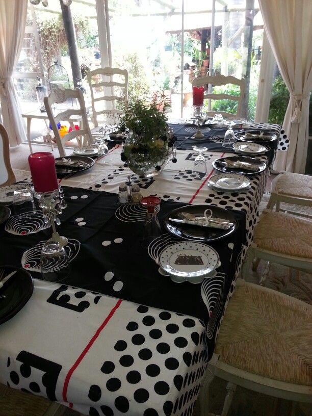My table settings