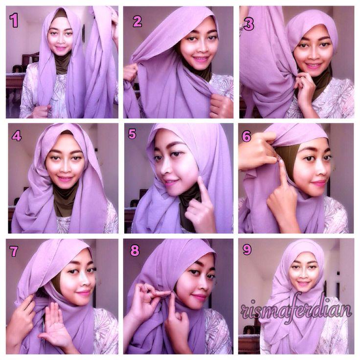 Tutorial Hijab Terbaru 2014