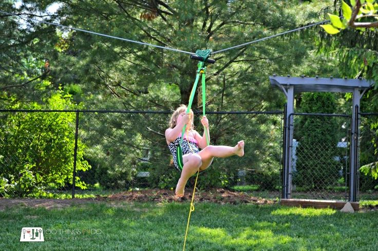 30 best How to make a Zip Line images on Pinterest ...