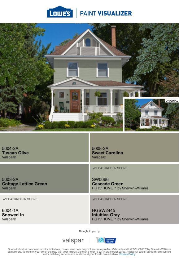 cascade green snowed in intuitive gray lowes home on valspar paint colors visualizer id=88437