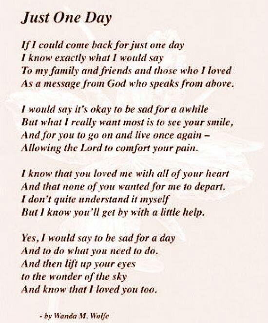 Quotes For Funerals Pleasing 104 Bästa Bilderna Om Quotes ✏ På Pinterest  Mamma Jag Saknar
