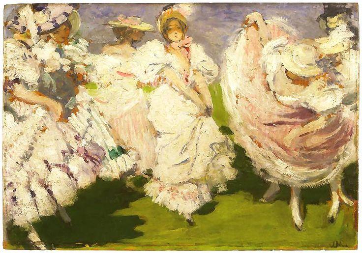 The Dance (Józef Mehoffer - 1898)