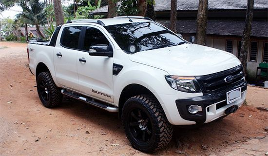 2015 ford ranger wildtrak facelift autounions first car news and review pinterest more. Black Bedroom Furniture Sets. Home Design Ideas