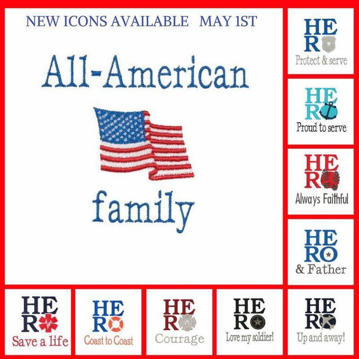 Thirty-One HERO series Icon-Its available for the Month of May, June, and July.  Embroidery with firemen, police, army, navy, marines, coast guard, airforce, military, USA flag, Canadian Flag.  Create a one of a kind gift for Father's Day celebrating your home hero--Dad!