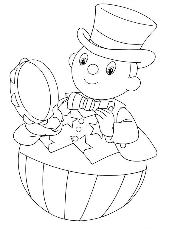 32 best noddy images on Pinterest Coloring books