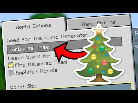 Minecraft - Finding Secret Christmas Seeds! (PS3/4, Xbox