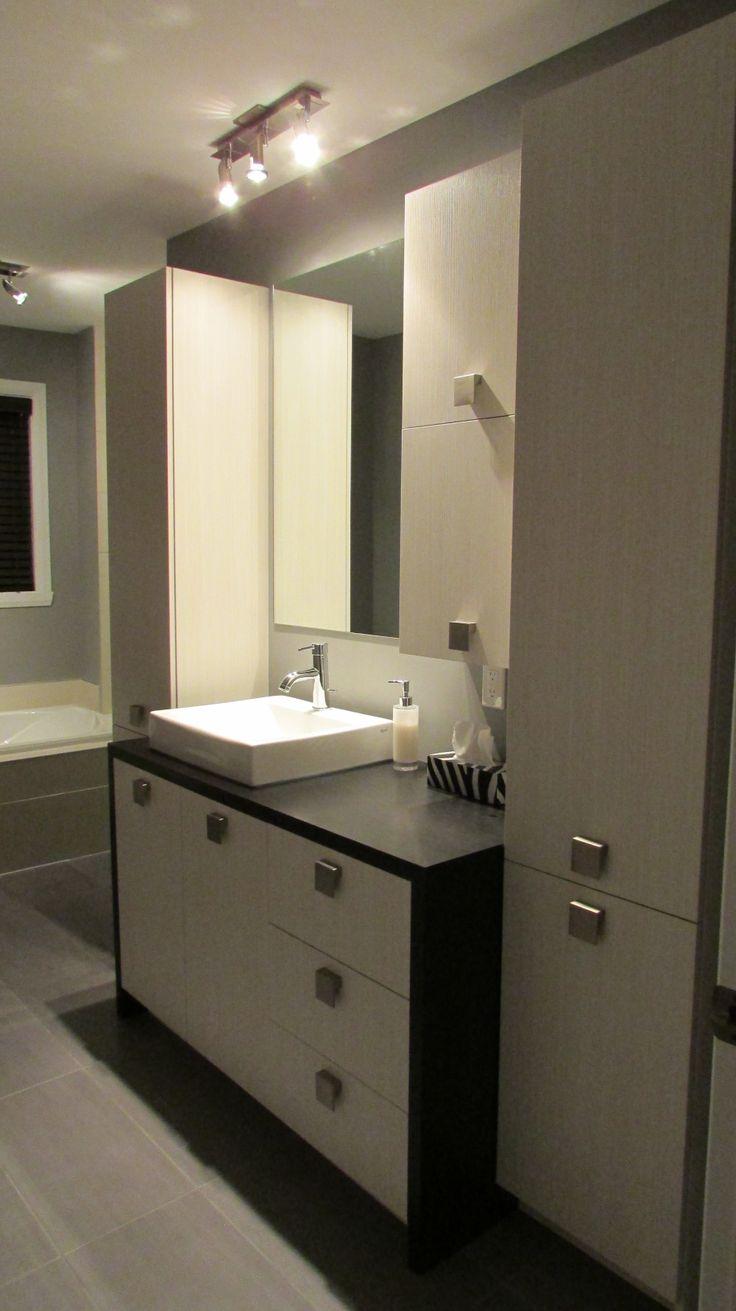 33 best salle de bain images on pinterest bathroom home ideas and restroom decoration. Black Bedroom Furniture Sets. Home Design Ideas