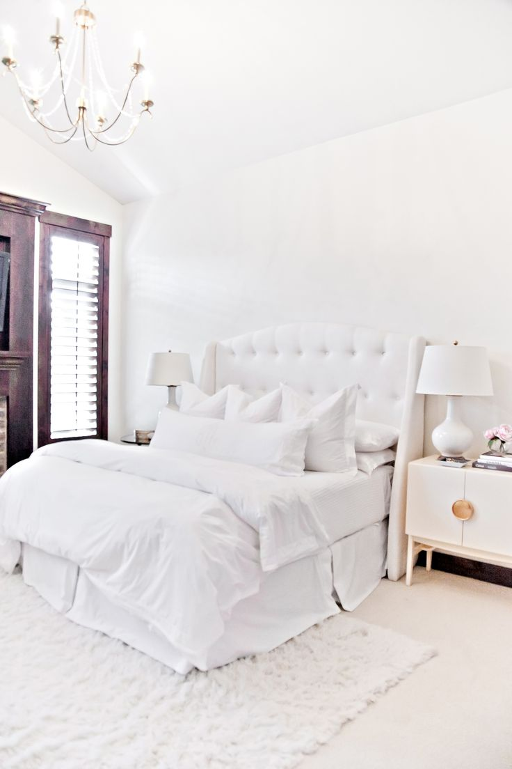 The 25 Best White Upholstered Headboard Ideas On