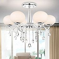 Modern Elegant 6 Light Chandelier with Global Shade. Get substantial discounts up to 70% Off at Light in the Box with Coupons and Promo Codes.