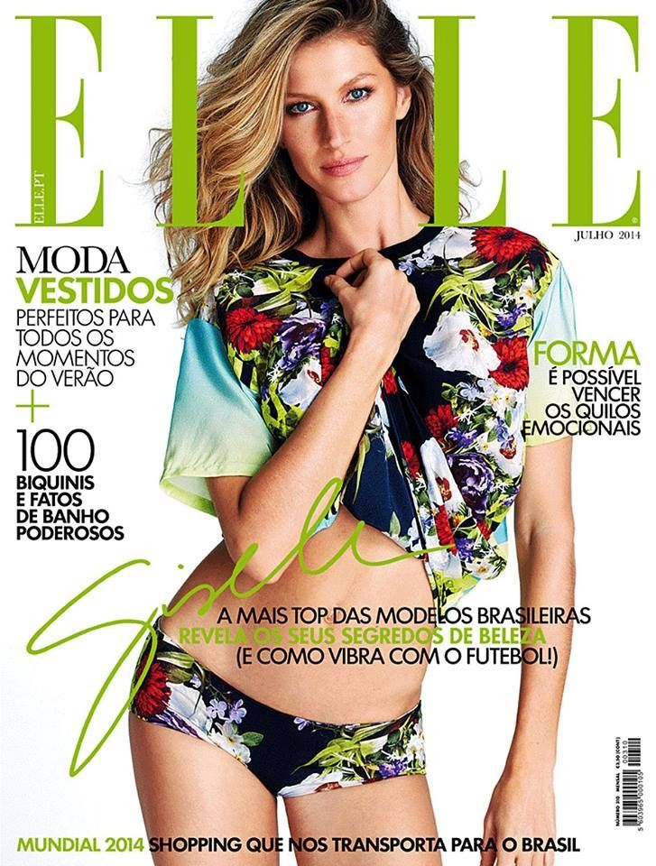 Gisele Bündchen | Elle Portugal July 2014
