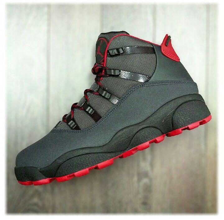 Mens Air Jordan Six Rings Premier Black White Grey shoes