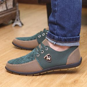 2016 Spring Brand Men Shoes Casual Lace up Canvas Men Flat Shoes Low Breathable Suede Classic Casual Men Shoes EU size 39-44