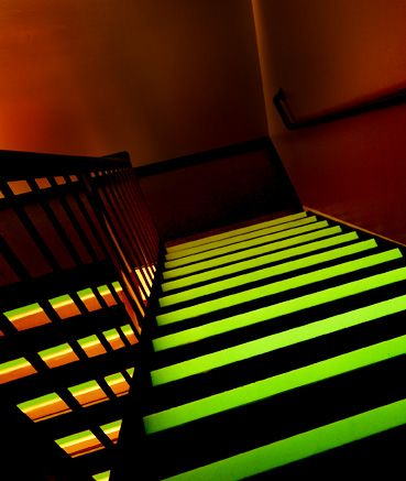 #Metal #Stair #Tread #by #Roppe #glowinthedark #blacklight Lawson Brothers