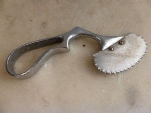 Vintage surgeons small saw cutter medical instrument